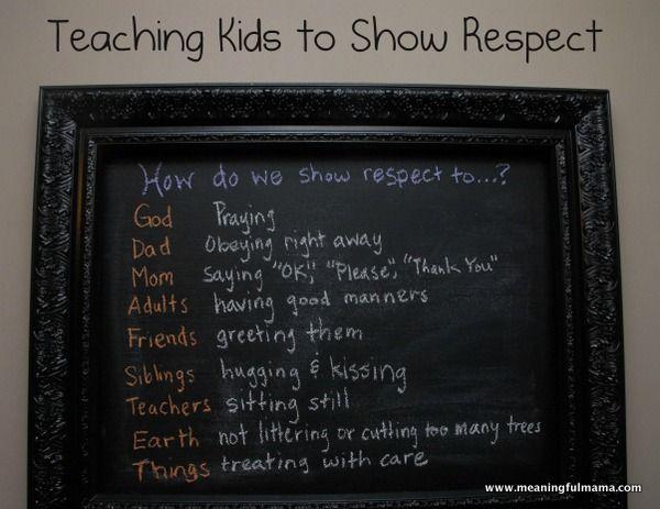 The 25+ Best Respect Activities Ideas On Pinterest