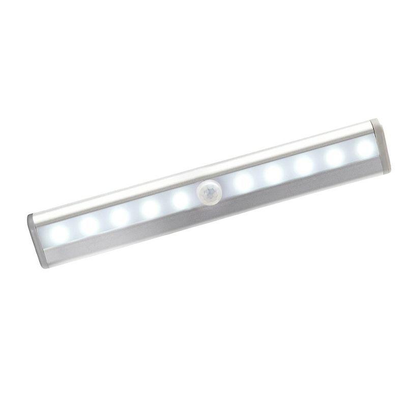 Portable Wireless Motion Sensor Led Light Stick On 10 Led Lamp