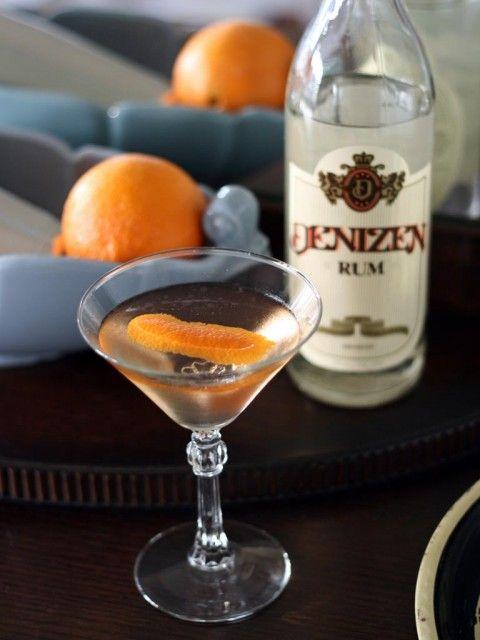el presidente rum blanc vermouth orange liquor grenadine orange bitters cocktails. Black Bedroom Furniture Sets. Home Design Ideas