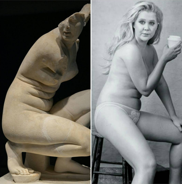 Why This Amy Schumer/Art History Meme Is Going Viral   - ELLE.com