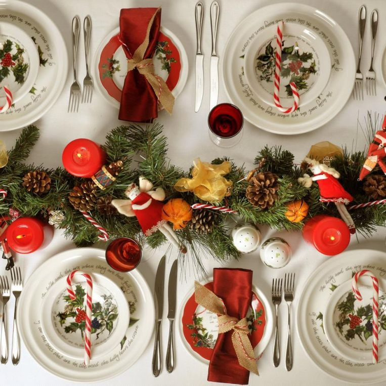 Portmeirion The Holly And The Ivy Bella Jug In 2020 Christmas Table Settings Christmas Dishes Classic Christmas Carols