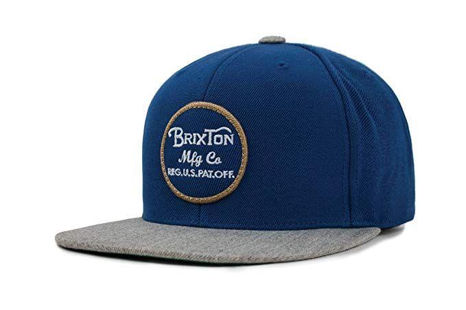 1acca135480 Brixton Men s Wheeler Medium Profile Adjustable Snapback Hat Review ...