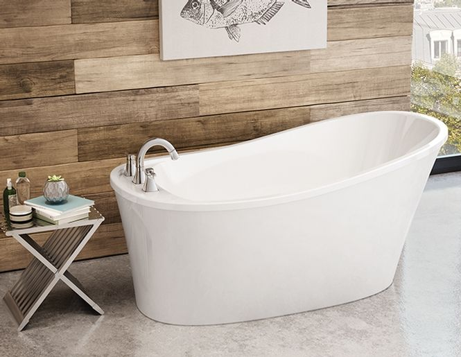 Bain Autoportant Ariosa 6032 Maax Free Standing Tub Tub Clawfoot Bathtub