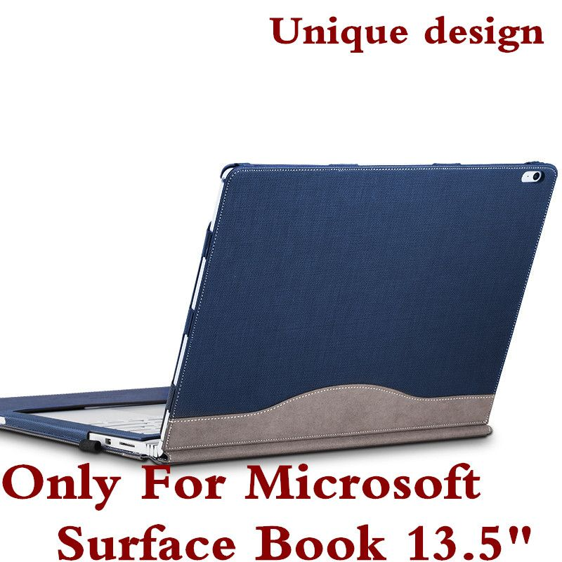 Detachable Cover For Microsoft Surface Book 13 5 Tablet Laptop Sleeve Case Pu Leather Protective Ski Microsoft Surface Book Tablet Laptop Tablet Accessories