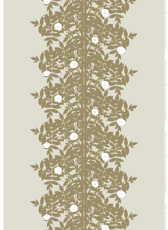 Ruusupuu Hw Cotton Sateen Fabric By Marimekko Marimekko