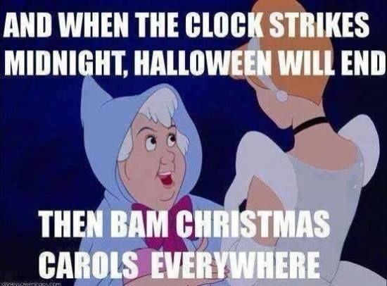 Say Good Bye To Halloween And Hello To Christmas Halloween Memes Humor Funny Quotes
