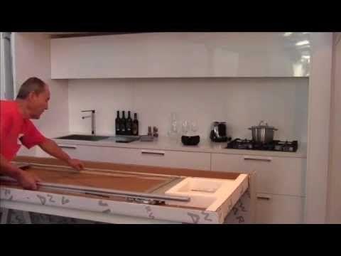 Hafele Finetta Spinfront Sliding Door Application Installation Sliding Doors Doors Modern Kitchen