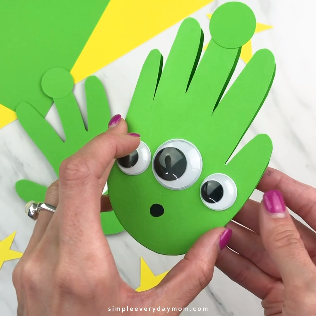 Handprint Toy Story Craft For Kids