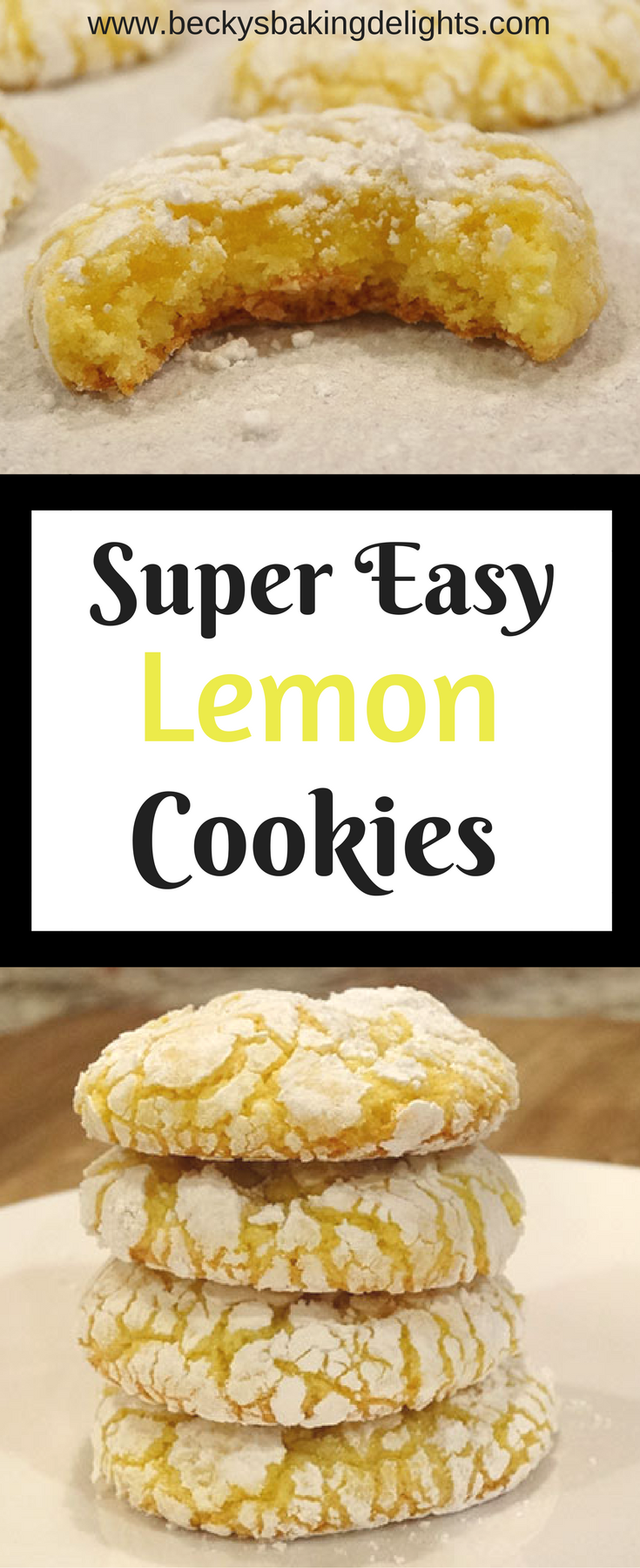 Super Easy Lemon Cookies images