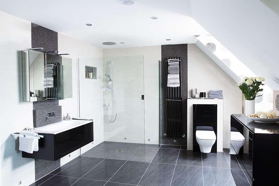 Ideen für das Badezimmer Dekorieren: High-Tech-Badezimmer