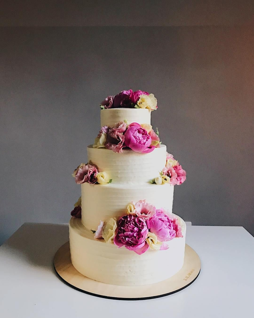 Four Tier Wedding Cake inspiration