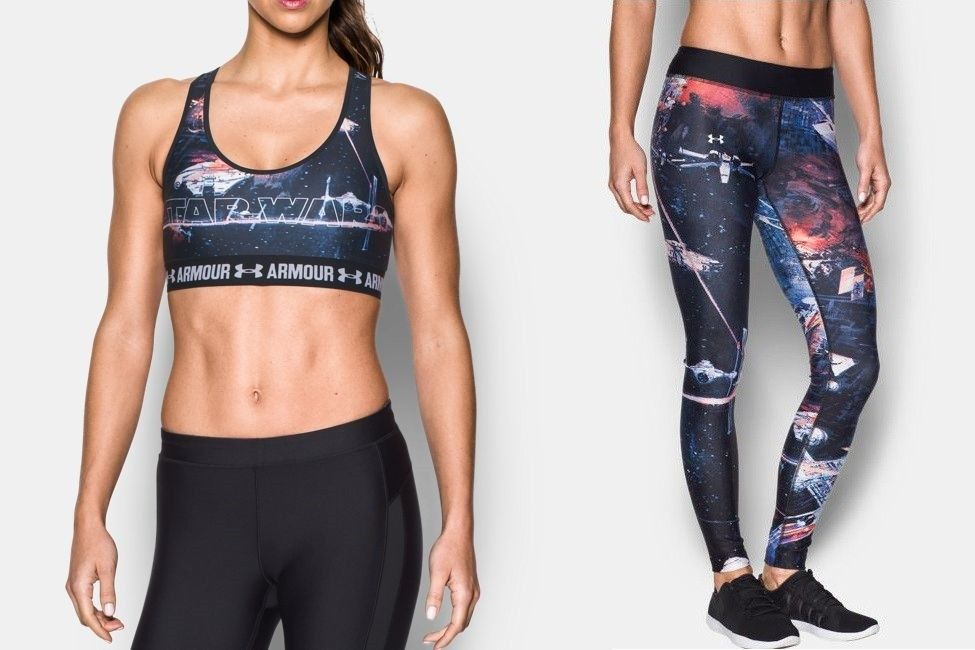 68570f1350f46 Under Armour x Star Wars athletic apparel   Shut up and take my ...