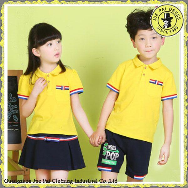 Estilo Koreal moderna uniformes escolares de Kindergarten para los ... e87071ea12e5d