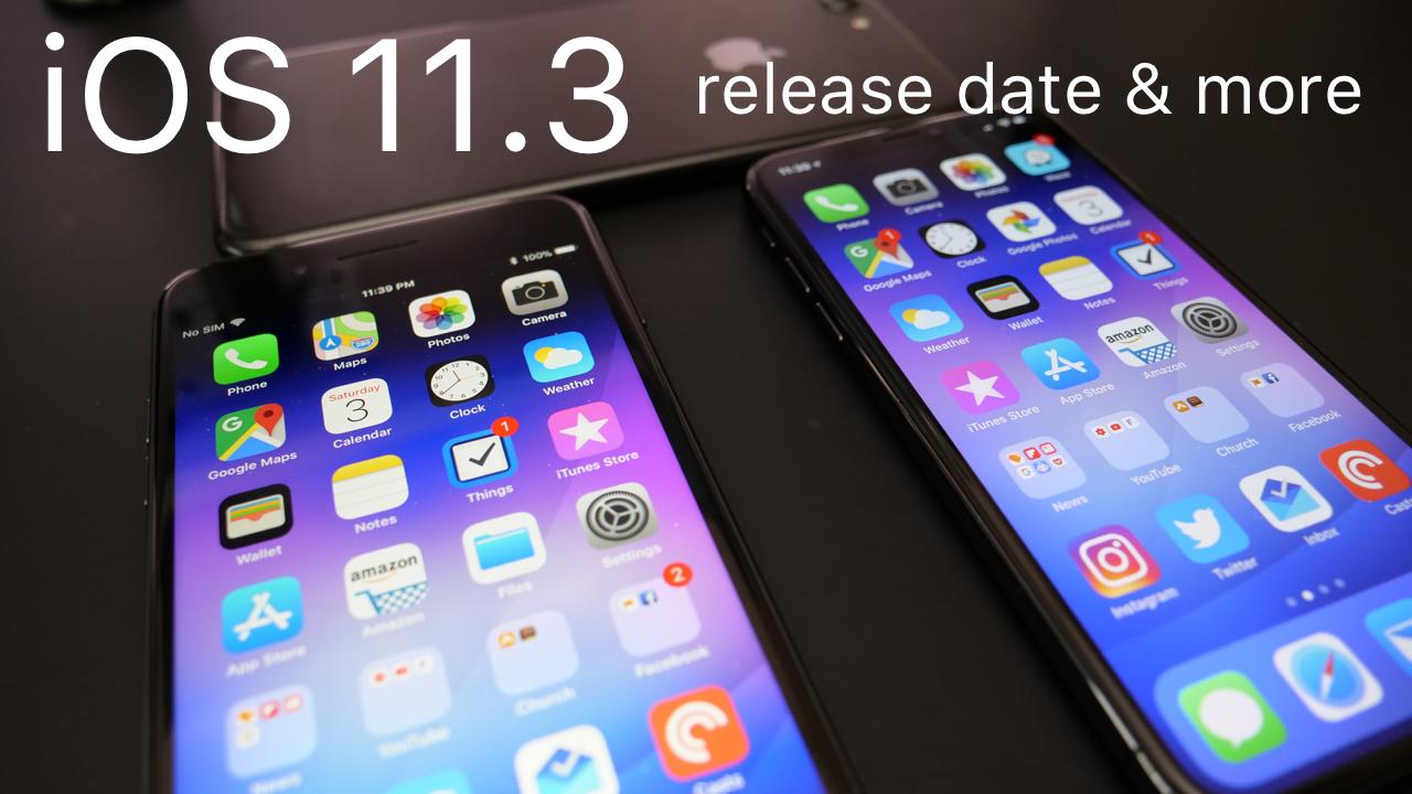 Ios release dates
