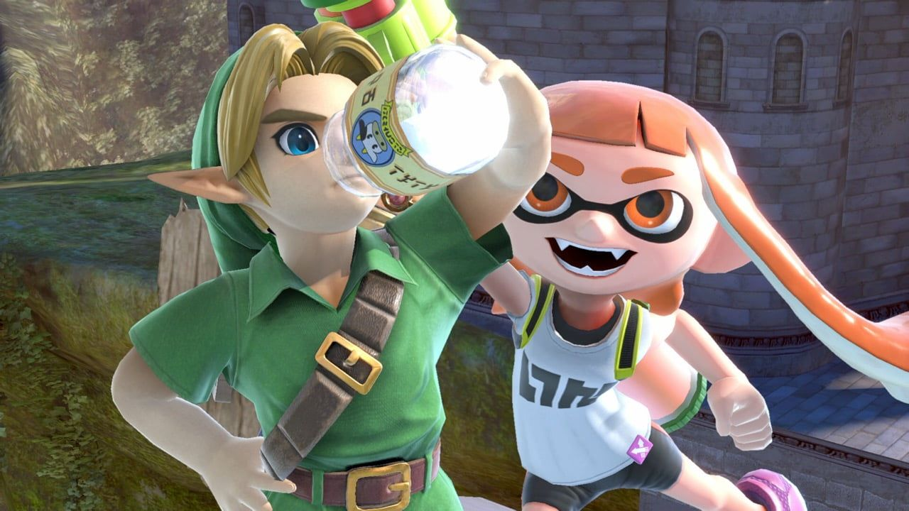 Young Link and Inkling | Super Smash Bros  Ultimate for the Nintendo