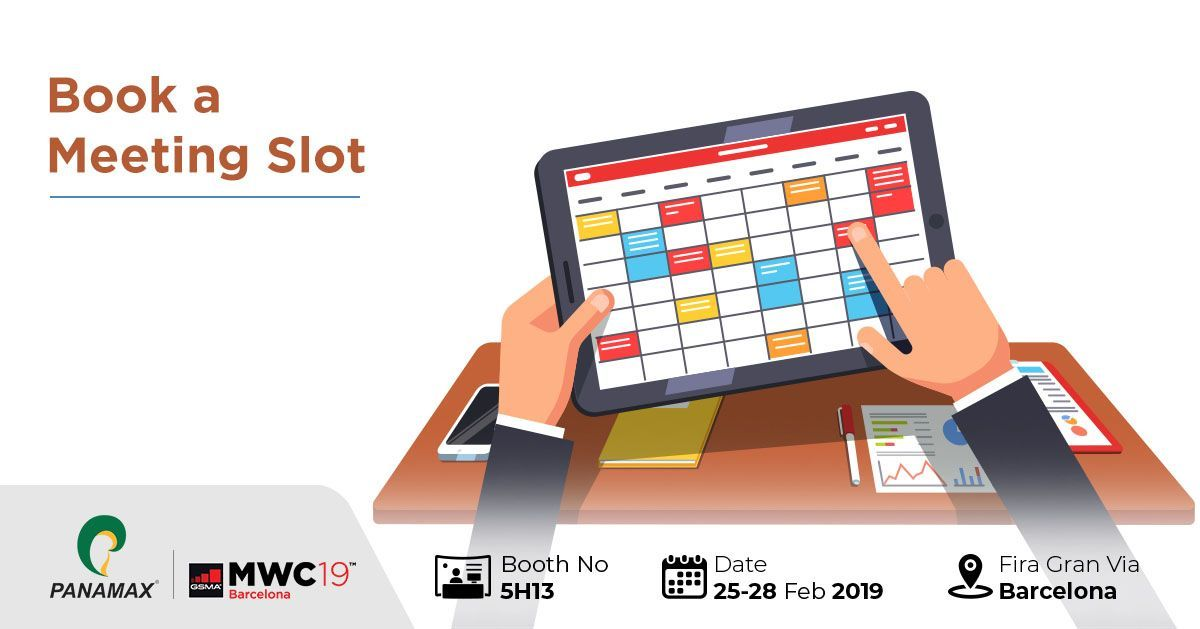 Meet Panamax at MWC 2019 Mobile banking, Voip solutions