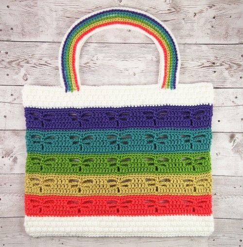 Dragonfly Beach Tote Free Pattern Crochet For Children