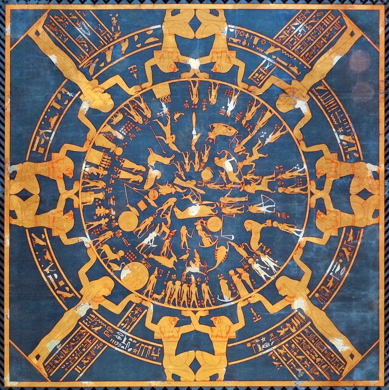 Jean-Pierre Dalbera Le zodiaque de Denderah (Neues Museum, Berlin)