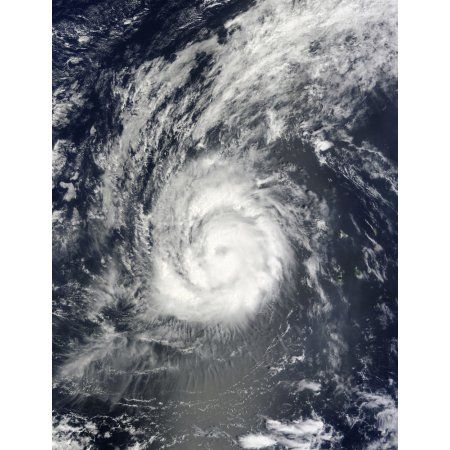 Hurricane Julia Canvas Art - Stocktrek Images (25 x 33)