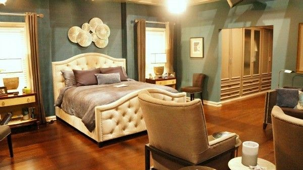 Master bedroom from the Blackish TV show