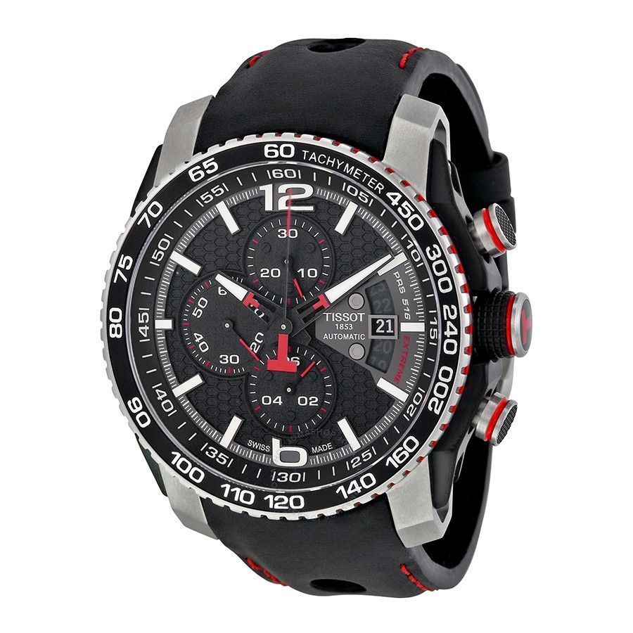 43883865846 Tissot PRS 516 Extreme Automatic Chronograph Men s Watch T0794272605700 -  PRS 516 - T-Sport - Tissot - Watches - Jomashop