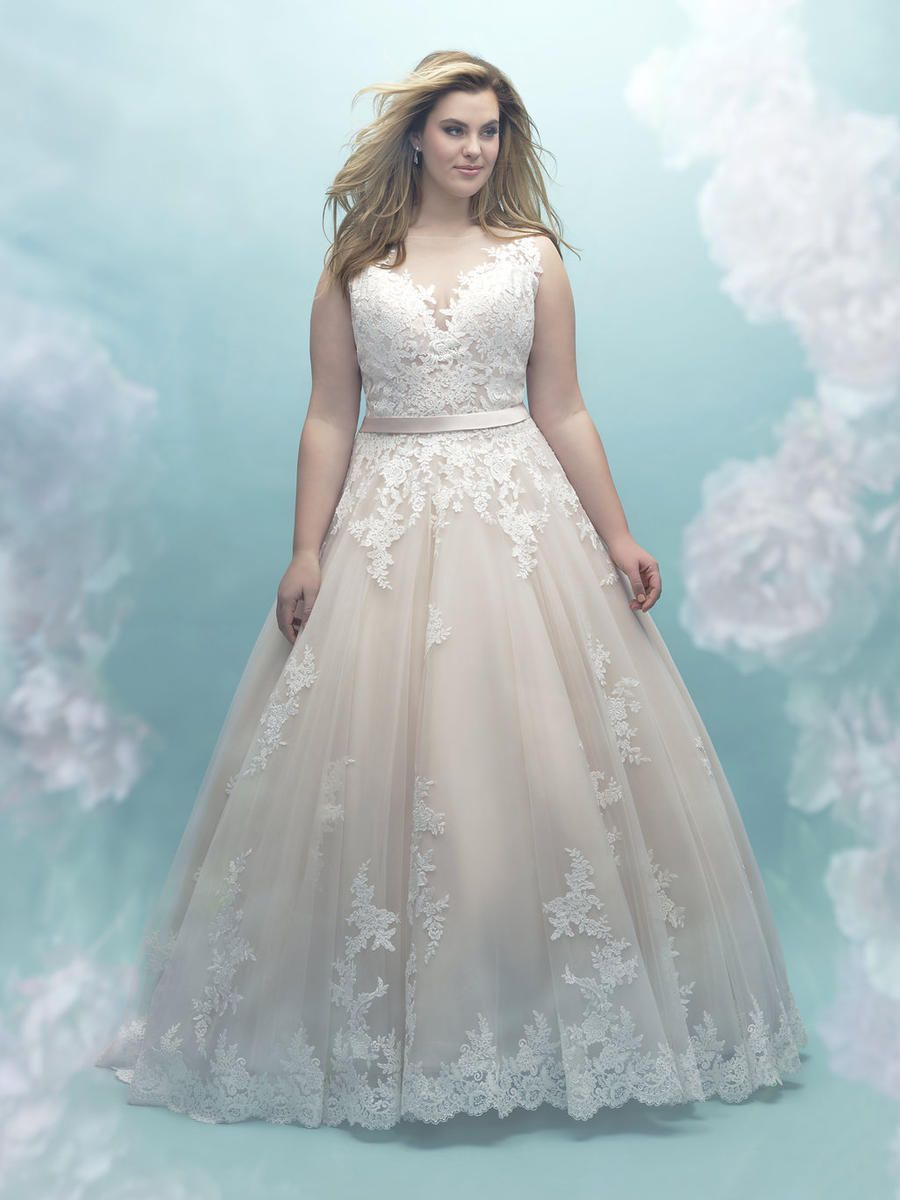 Allure Bridal Women Size Colleciton Dress W405 | Terry Costa ...