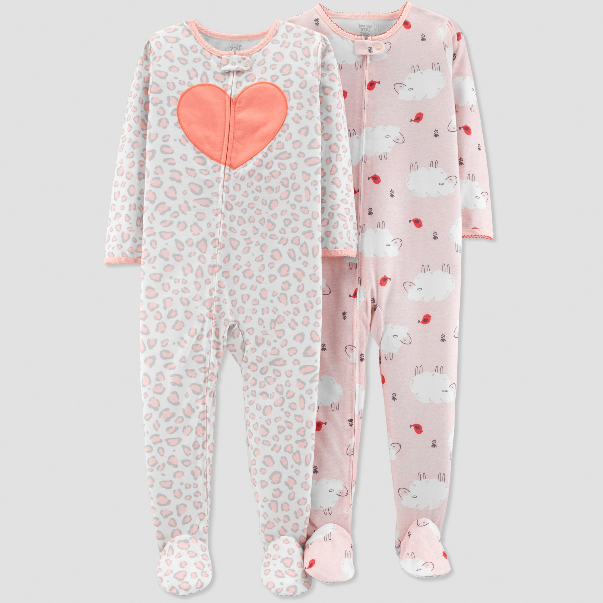 9e683dbb79e1 Toddler Girls  Sheep Pajama Set - Just One You made by carter s Pink ...
