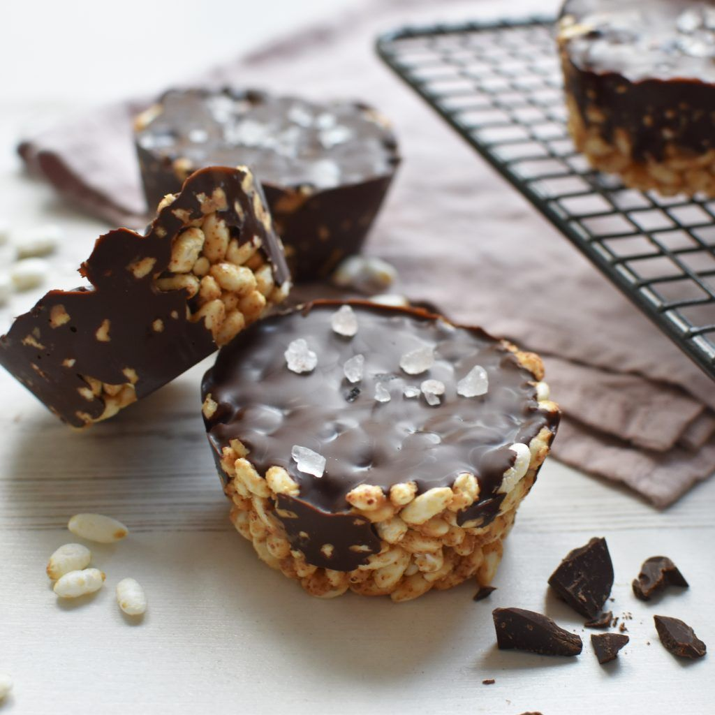 Vegan Puffed Rice Treats | Puffed rice, Dessert recipes ...