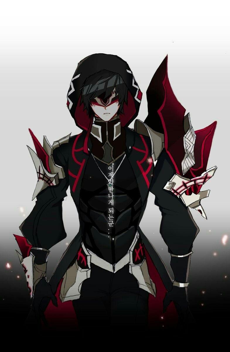 dark anime villains: Pin By CloudDjinni On Elsword