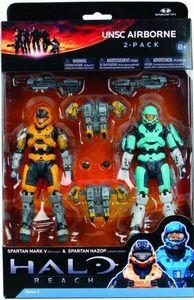 McFarlane Toys Halo Reach Series 4 Spartan Hologram Action Figure 2-Pack