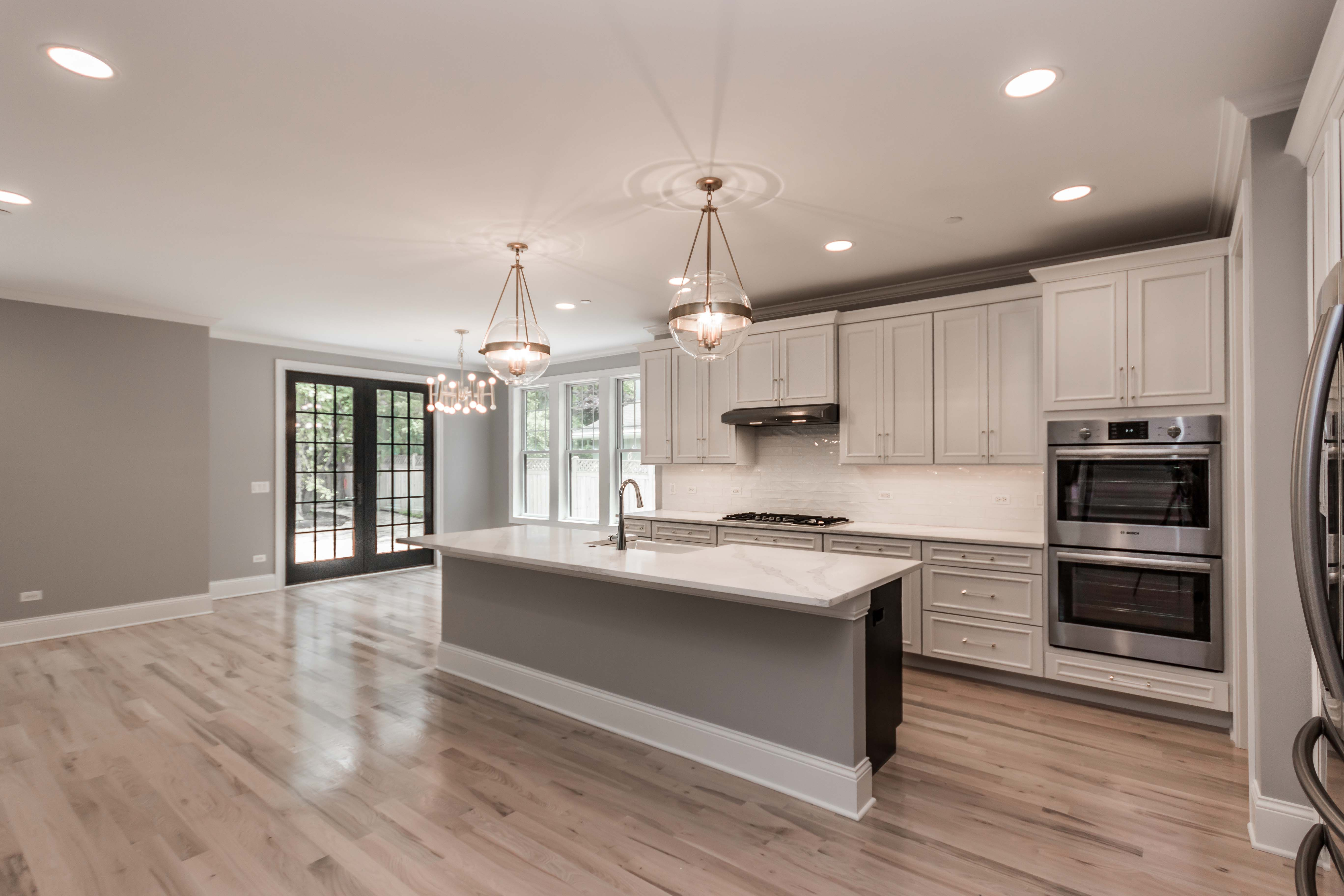 Best Light And Bright Kitchen With Oak Floors White Cabinetry 400 x 300