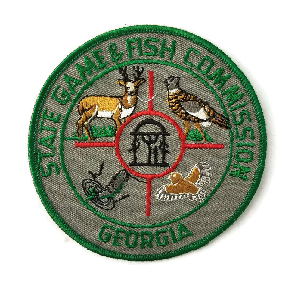 Vintage 60's Game & Fish Commission Game Warden