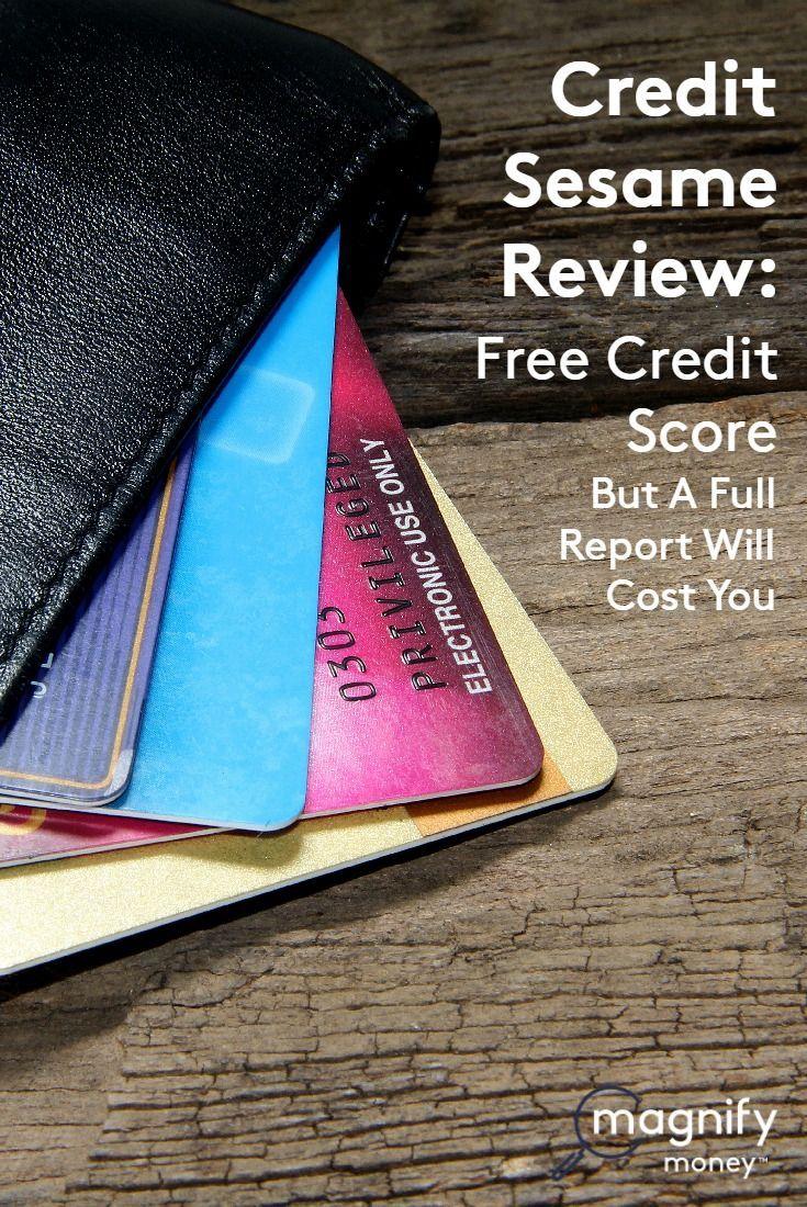 Credit sesame review free credit score but a full credit