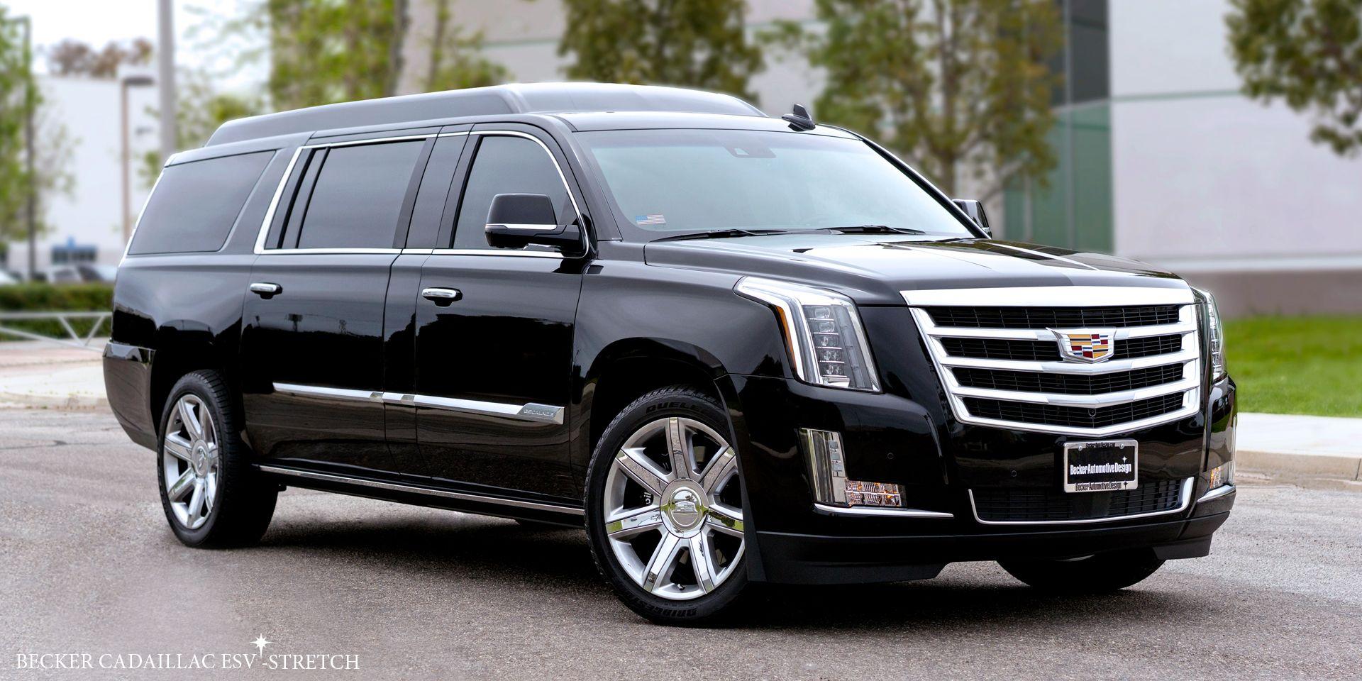 2017 Cadillac Escalade Esv Suv Stretch Limousine Cadillac