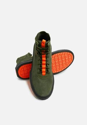 5c22cdb13f6d Breaker Hi FOF - 367714 01 - Forest Night Firecracker PUMA Sneakers