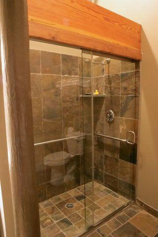 Slate Shower Slate Shower Slate Bathroom Bathroom