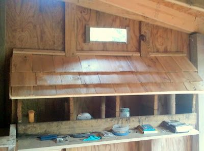 Easy Lean-To Makeover: Our New Coop
