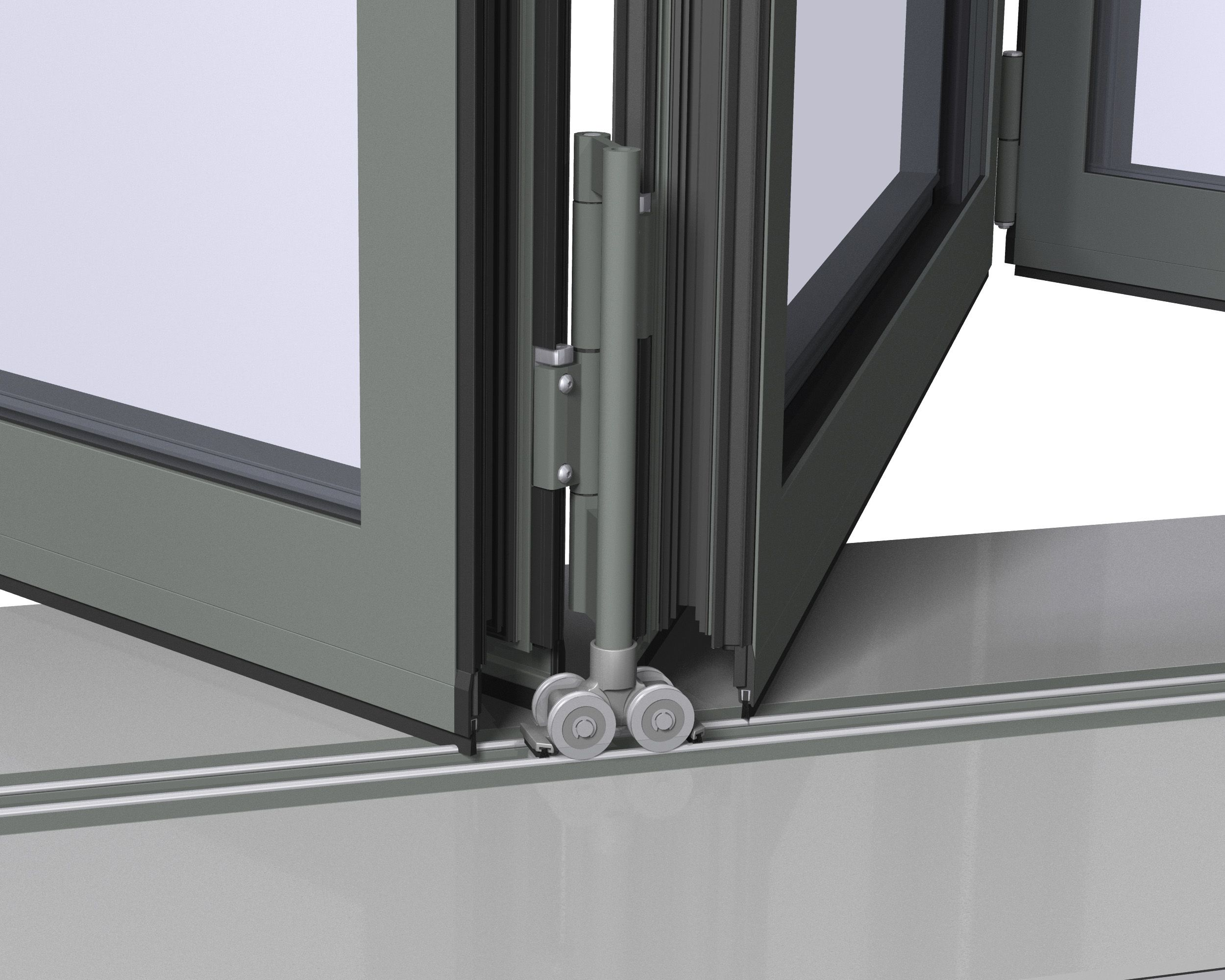 bi hardware door piece in com shop at reliabilt pass kits pl closet sliding tracks track lowes