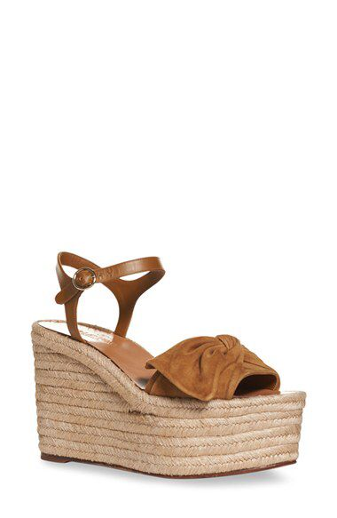 4b36614f2dc Valentino Valentino  Bow  Espadrille Wedge Sandal (Women) available at   Nordstrom