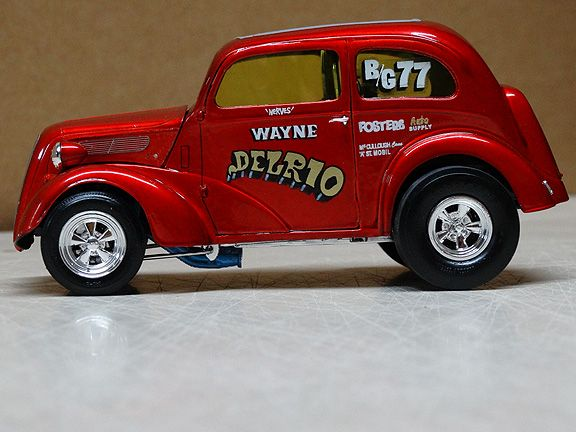 Wayne Delrio S 48 Anglia Model Cars Kits Drag Racing Cars Drag