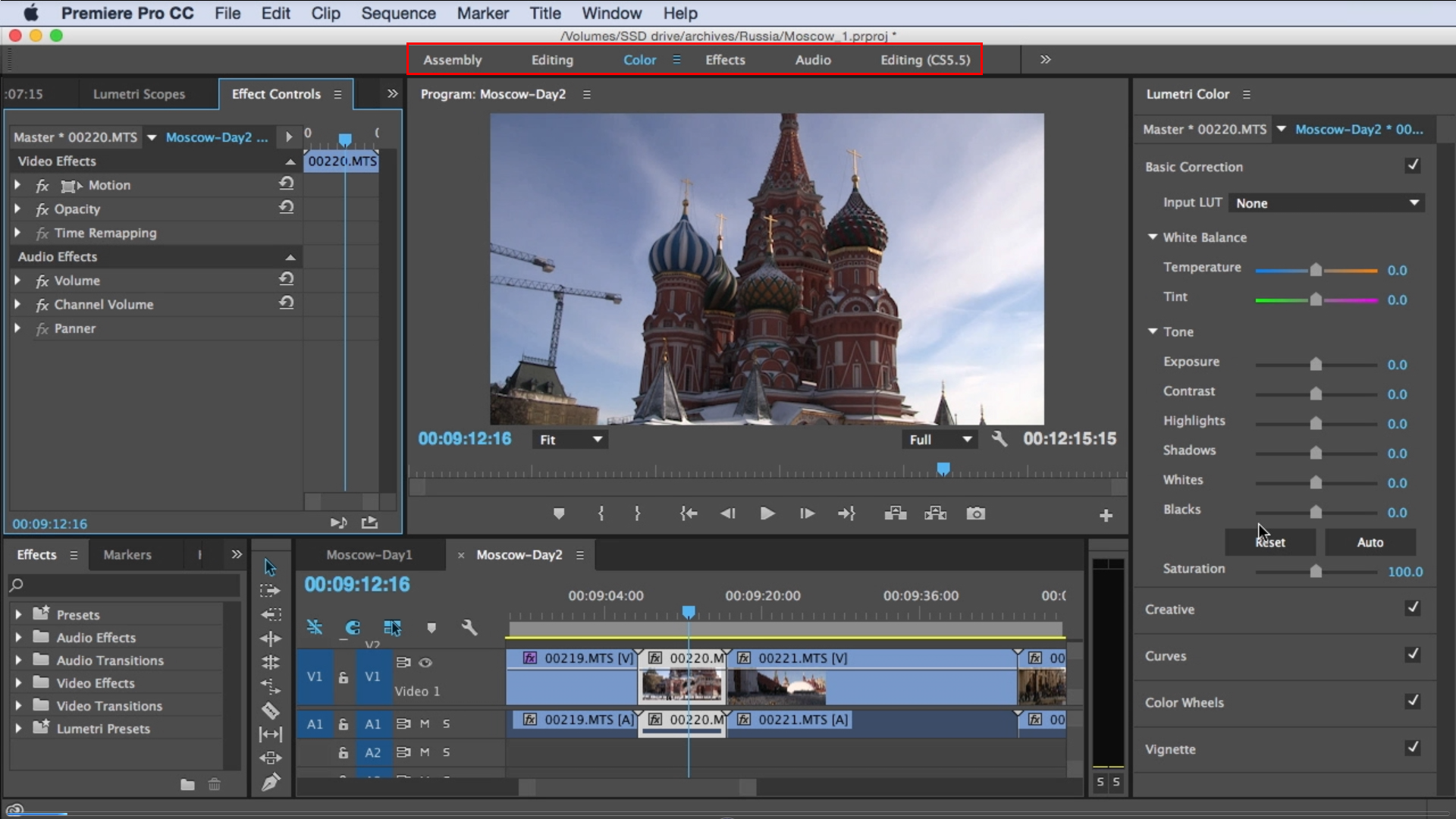 Tutorial: Using the New Lumetri Color Interface in Adobe Premiere