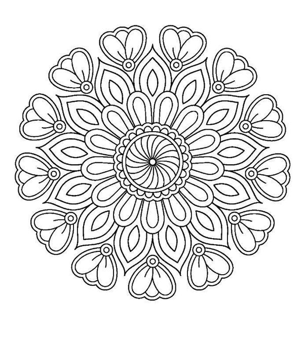 45 Free Printable Coloring Pages To Download Buzz 2018 Mandala Coloring Pages Free Printable Coloring Pages Colouring Printables