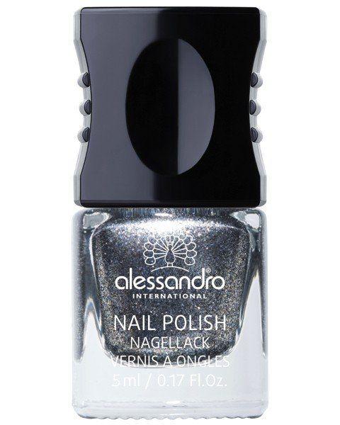 Iconic Jewels Diamond dust   Nagellack von Alessandro   Nageldesign silber   www.parfum.de