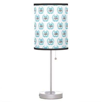 Your Custom Logo Image All Over Patterned Table Lamp Home Lamps Decor Lamp Tablelamp Tablelamps Home Living Table Lamp Office Lamp Custom Logos