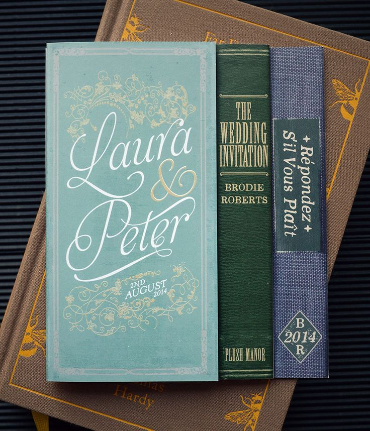 image result for book themed wedding invitations - Book Wedding Invitations