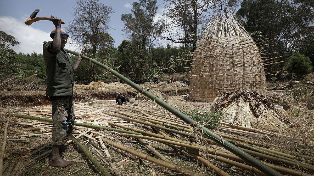 Dorze Chencha Woven Bamboo Houses | Dorze Chencha  - Ethiopia - Woven Bamboo House (14)