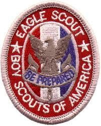 An Eagle Scout honor.