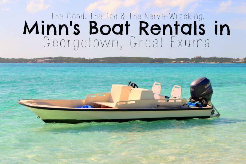 Min's Boat Rental Georgetown Exuma | Travel in 2019 | Great
