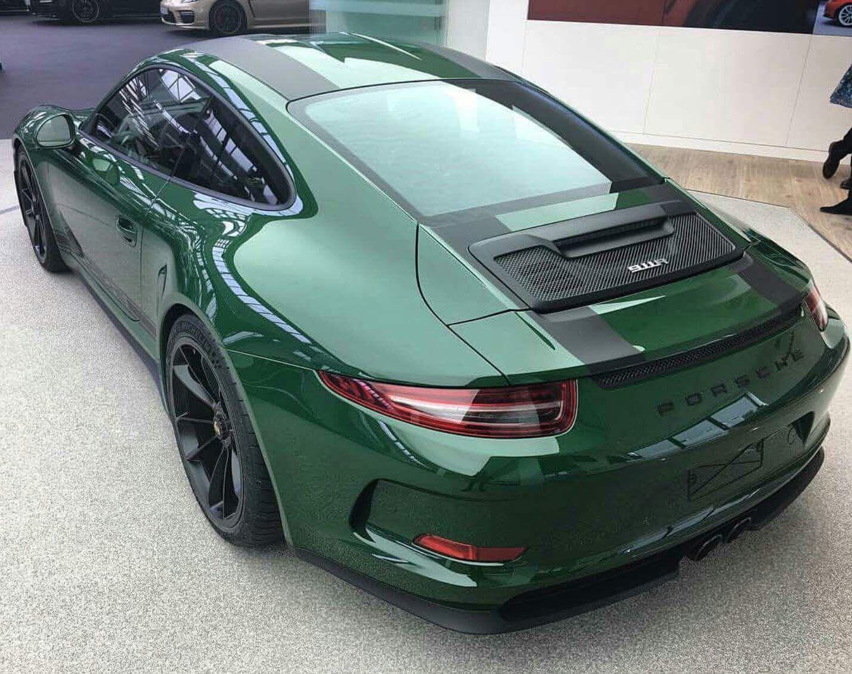 Green Car From Cars: Porsche, Porsche 2017, Porsche Cars