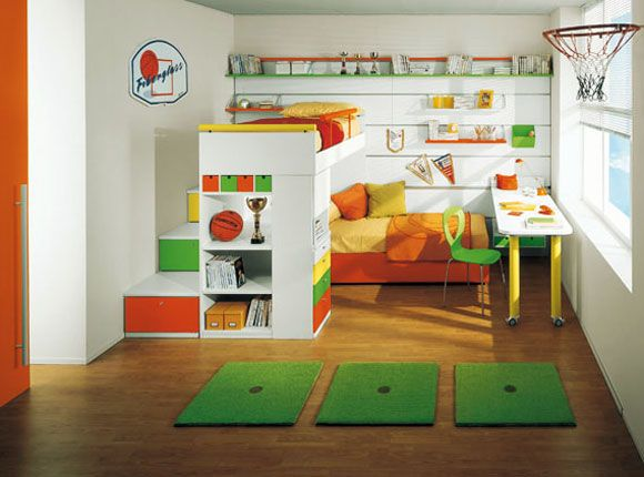 Cute toddler basketball room. | Beautiful Home - KIDS ROOM | Kids ...